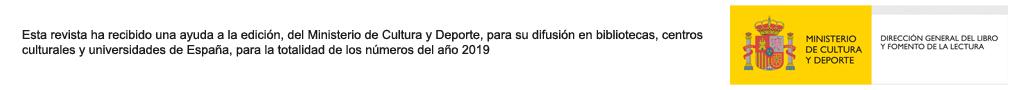 Ministerio de Cultura Libro 2019